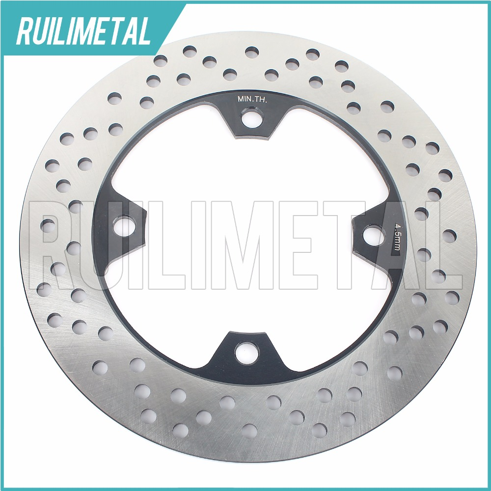 Rear Brake Disc Rotor for Z750 2004 2005 2006 04 05 06 ZX9R NINJA ZX10R  ABS Z1000 2003 2004 2005 2006 03 04 05 06 motorcycle part front rear brake disc rotor for yamaha yzf r6 2003 2004 2005 yzfr6 03 04 05 black color