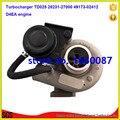 TD025 elektrische turbine 28231-27000 turbolader 49173-02410 49173-02412 turbo für hyundai oder kia D4EA motor