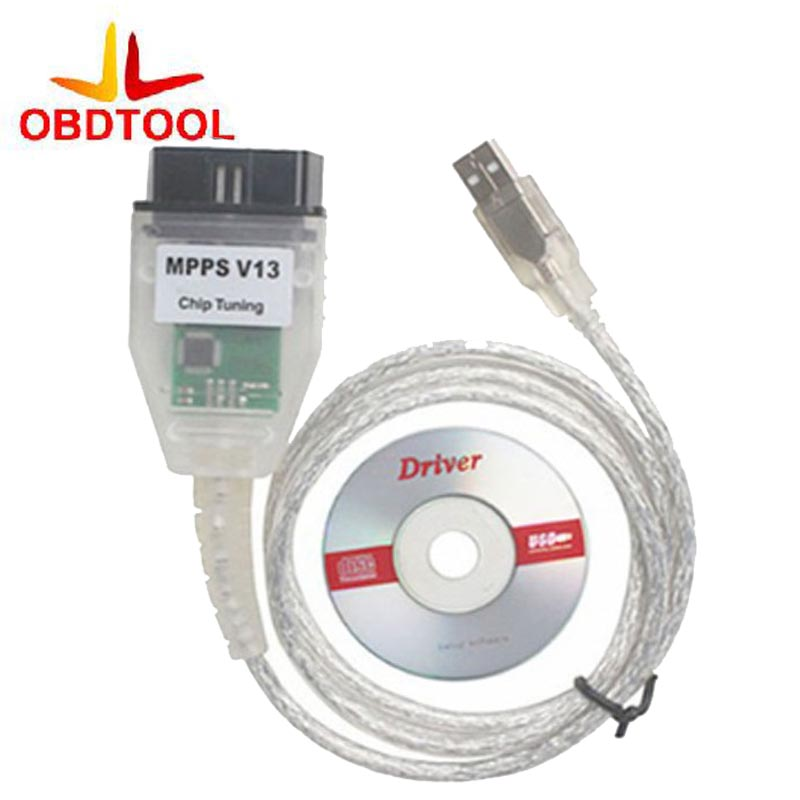 ObdTool High Quality SMPS MPPS V13.02 CAN Flasher Chip Tuning ECU Remap OBD2 Professional Diagnostic Cable Latest