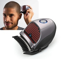 Jinding Bald Head Clipper Shortcut Self Haircut Kit Hair Clippers Cordless Rechargeable Hair Cutter Shaving Machine with 9 Combs