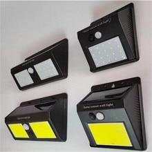Splar Light Garden Night Lights IP65 LED Solar Lamp Motion Sensor Outdoor Waterproof Security Wall Street Yard Path