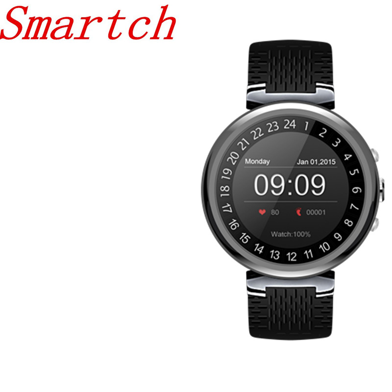 Smartch 2018 I6 Smart Watch Android 5.1 OS MTK6580 Quad Core 1.3GHz 2GB 16GB Smartwatch Support Google Play Store Map 3G GPS