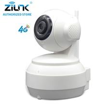 ФОТО ZILNK 960P 3G/4G SIM Card 13Megapixel HD P2P Network PT Wireless IP Camera 2 Way Audio  IR Night Vision TF Card Indoor White