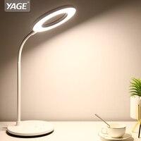 YAGE Luminaria Table Lamp Led Desk Lamp Desktop Modern Office USB Touch Wireless Lampe Flexo Bureau Study Rechargeab Table Light