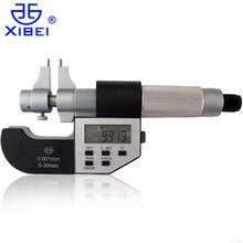 Высококачественный бренд Xibei электронный цифровой Внутренний микрометрический суппорт манометр 5-30 мм 0,001 мм