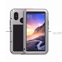 Original Brand Aluminum Metal Case For Xiaomi Mi8 Max Max2 Max3 Shockproof Cover 360Full Body Protective Coque Phone Case KS0002