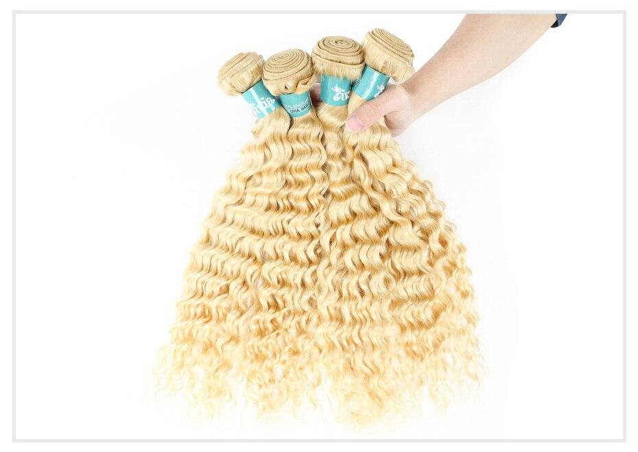613 Blonde Curly Hair Bundles (17)