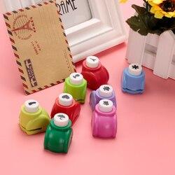 Мини-дырокол для скрапбукинга ручной резак для открыток Ситцевая Печать Цветок бумажная Дырокол форма DIY Бесплатная доставка