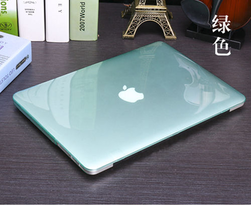 Crystal Clear Hard Cover Case For MacBook Pro 13 Inch with CD-ROM (Model: A1278, Version Early 2012/2011/2010/2009/2008)