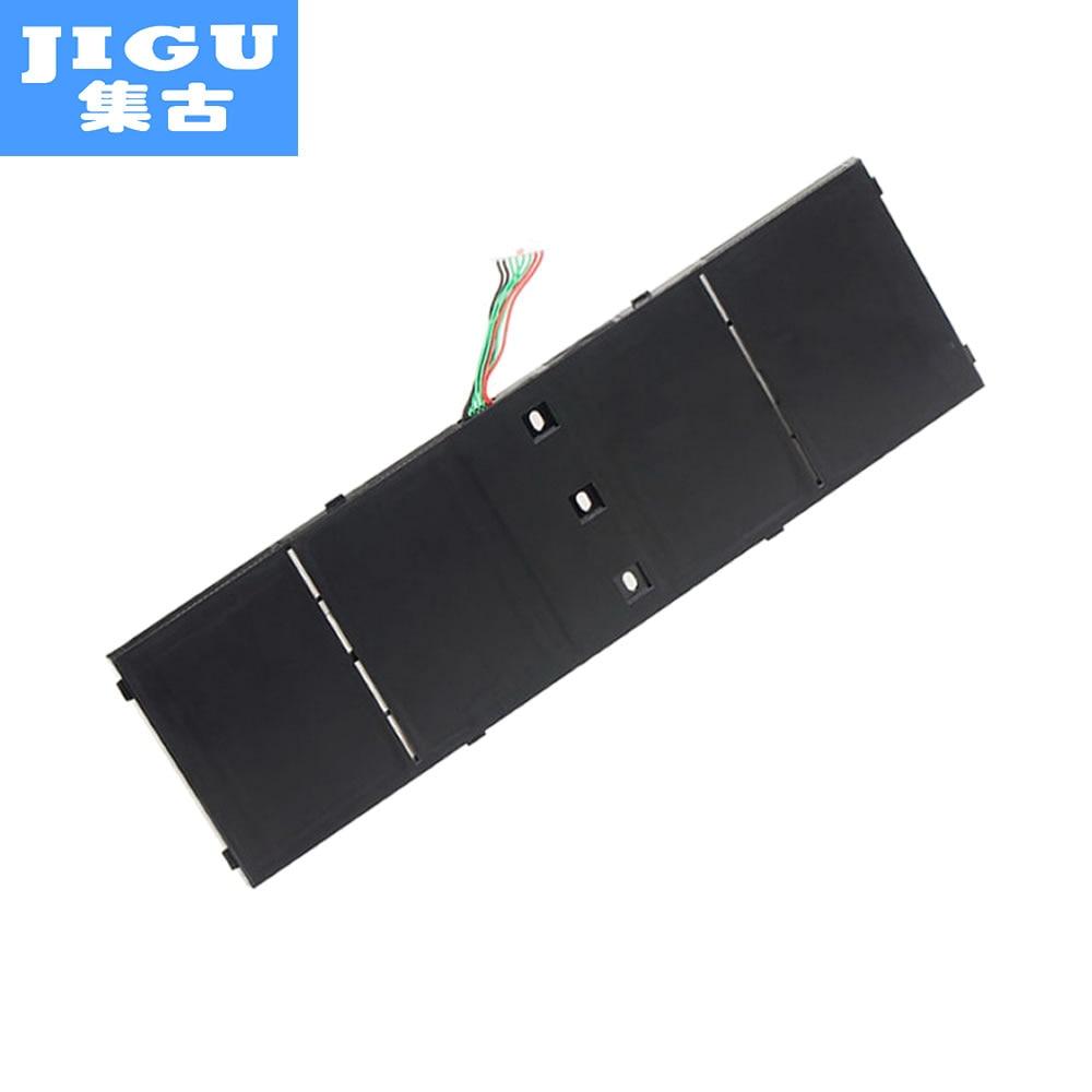 JIGU Laptop Battery AP13B 4lCP6/60/80 AP13B8K 4lCP6/60/78 AP13B3K AP13B8K FOR ACER Aspire R7 V5-573G 437 UltraBook 571 Series ap13b3k ap13b8k 4icp6 60 78 laptop batteries for acer aspire v5 473g v5 573g es1 512 c8xk v7 582pg v5 572g v5 552p 15 0v 6 cell