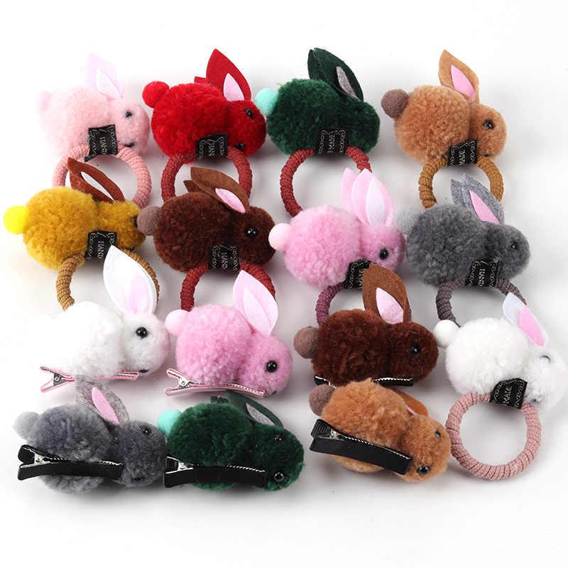 Детский головной убор, Банни для волос, резинки для девочек, резинка для волос, для домашних животных, для волос, для девочек, украшения для волос, милые, ручная работа