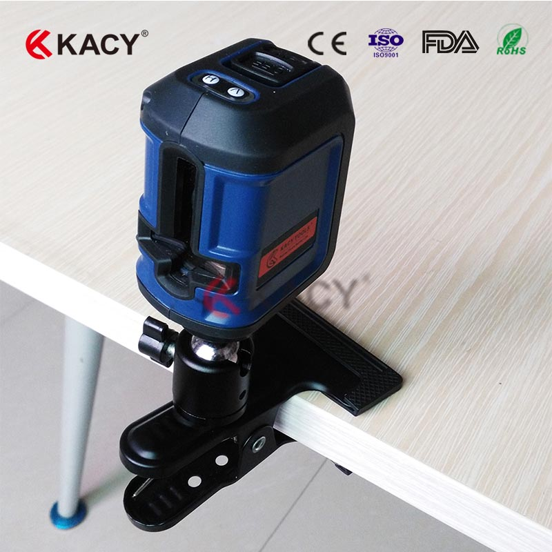 KACY AL04 1V1H Self- leveling compact Cross red Laser Level with 2 lines kacy al04 laser level 2 line rotary 360 leveling 1v1h horizontal and vertical cross lazer levels lines excluding tripod