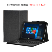 For Microsoft Surface Pro 6 5 4 3 12.3'' Case Luxury Stand Tablet PC Cover Coque For Surface Pro 5 Pro 4 Full Protective Shell