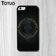 Hot Direct selling One Ring To Rule Them All Pattern Style Mobile Protection PC Cover for iphone 5S And 4S 5C 6 6Plus 6S 6SPlus