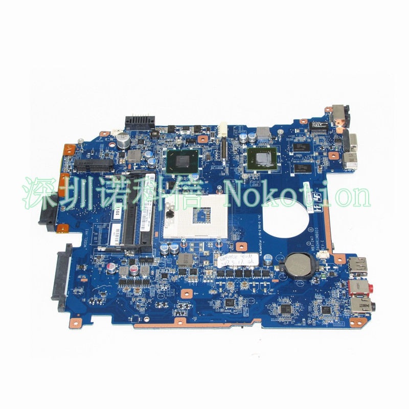 NOKOTION MBX-247 Main Board For Vaio PCG-71912L Laptop motherboard DA0HK1MB6E0 A1848625A HM65 DDR3 GT410M GPU все цены