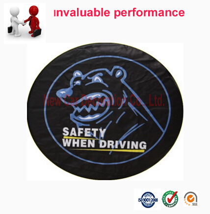 Free Shipping Universal PVC PU custom wheel Tyre Cover Spare Tire cover Wheel Accessories For Suv