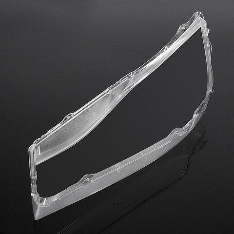 farol transparente com lente plastica para bmw