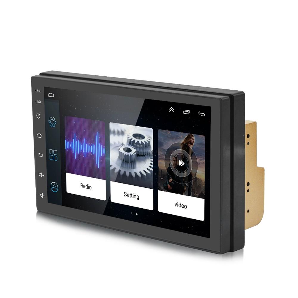 S6 2 Din Voiture Stéréo Android 8.1 Quad Core 7 pouces navigation gps auto-radio lien miroir Bluetooth Musique Vidéo 1 GB RAM 16 8GBROM - 2