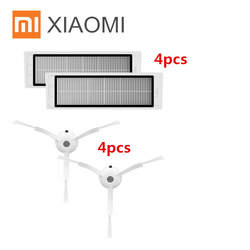 Робот Пылесосы для автомобиля часть hepa фильтр * 4 шт., боковая щетка * 4 шт. для Xiaomi mijia/Xiaomi roborock S50 roborock 2