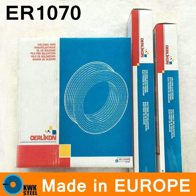 ER1070 oerlikon製スイスヨーロッパ純アルミニウム溶接ワイヤープレミアム品質溶接alワイヤー2〜5ミリメートル  グループ上の ツール からの 溶接ワイヤ の中 1