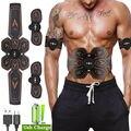 2019 bauch Muscle Stimulator Trainer Rechargable Drahtlose EMS Abs Exerciser Getriebe Für Körper Schlank Fettverbrennung Workout Ausrüstung
