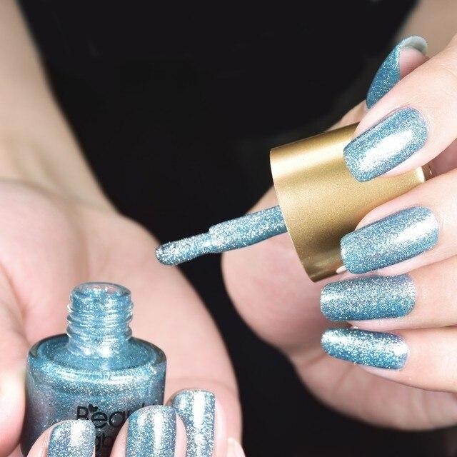 BEAUTYBIGBANG-vernis à ongles holographique, à paillettes scintillantes, cristal, arc-en-ciel, 9ML