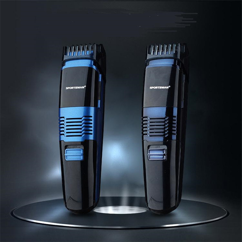 Electric Vacuum System Less Mess Precision Man Beard Trimmer Men Groomer Hair Removal Mustache Styling Clipper Shaver Razor Cut