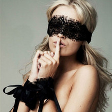 Sexy Lingerie Women Exotic Apparel Sexy Lace Mask+Sex Handcuffs Erotic Lingerie Hot Women Lady