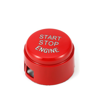 Car Engine Start Stop Switch Button Replace Cover Accessories Key Decor For BMW F Chassis F20 F21 F30 F31 F10 F11 F01 image