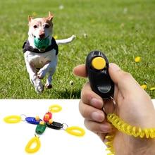 Универсальный портативный тренажер для животных с кнопкой для собак, кликер, звуковой тренажер, пульт дистанционного управления, инструмент для обучения домашних животных, аксессуар для запястья 7
