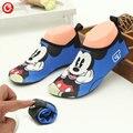 2016 nuevos niños del verano zapatos elástico súper ligero niños zapatillas de deporte en ejecución para niños / niñas inferiores suaves zapatos de la playa