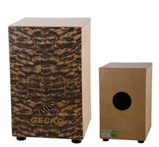 Adult Cajon Drum Cloud Pattern Birch Plywood Normal Color with foam bag EMS  free shipping Musical