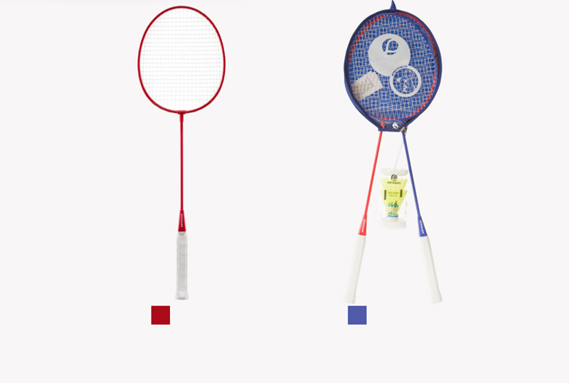 Free Shipping Badminton Racket Adults 66 Cm With 2 Badminton Balls