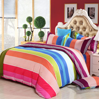 BEST.WENDS High Quality 4PCS Sheets Quilt Pillow Bedding Set Full Twin King Size Duvet Cover Bedding Sets without Comforter