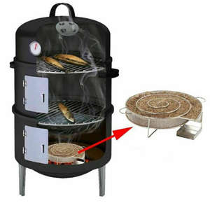 Bbq-Accessories Smoker Cooking-Tool Wood-Chip Bbq-Meat-Tools Barbecue-Grill Fish Bacon