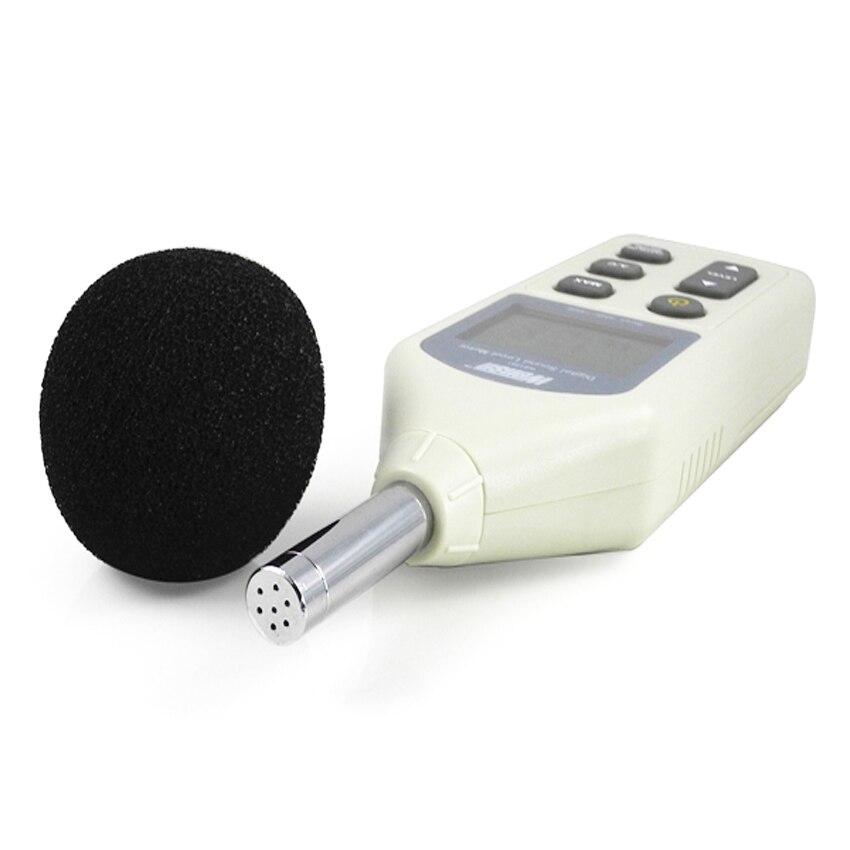 WS1361C sonomètre numérique, décibels, sonomètre numérique LCD 30-130db USB + avec carte SD - 4