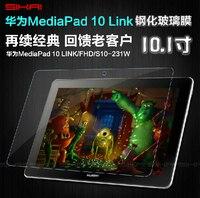 Nieuwe 9 H Hardheid Anti Shatter Gehard Glas Screen Protector Film Explosieveilige Guard Voor Huawei MediaPad 10 FHD 10 Link 10.1