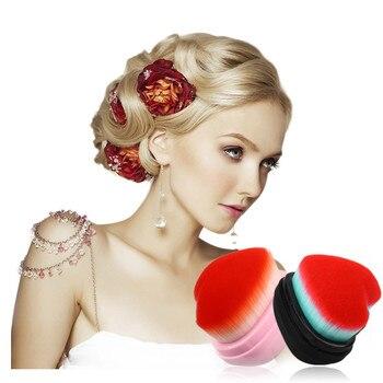 New 2019 Women's Fashion Heart-Shaped Makeup Brush Fishtail Bottom Brush Powder Blush Makeup  Brush Maquiagem Drop Shipping Eye Shadow Applicator