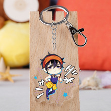 Japanese Anime JoJo Bizarre Adventure Cartoon Figure Car Keychain Holder Best Friend Graduation Chirstmas Day Gift