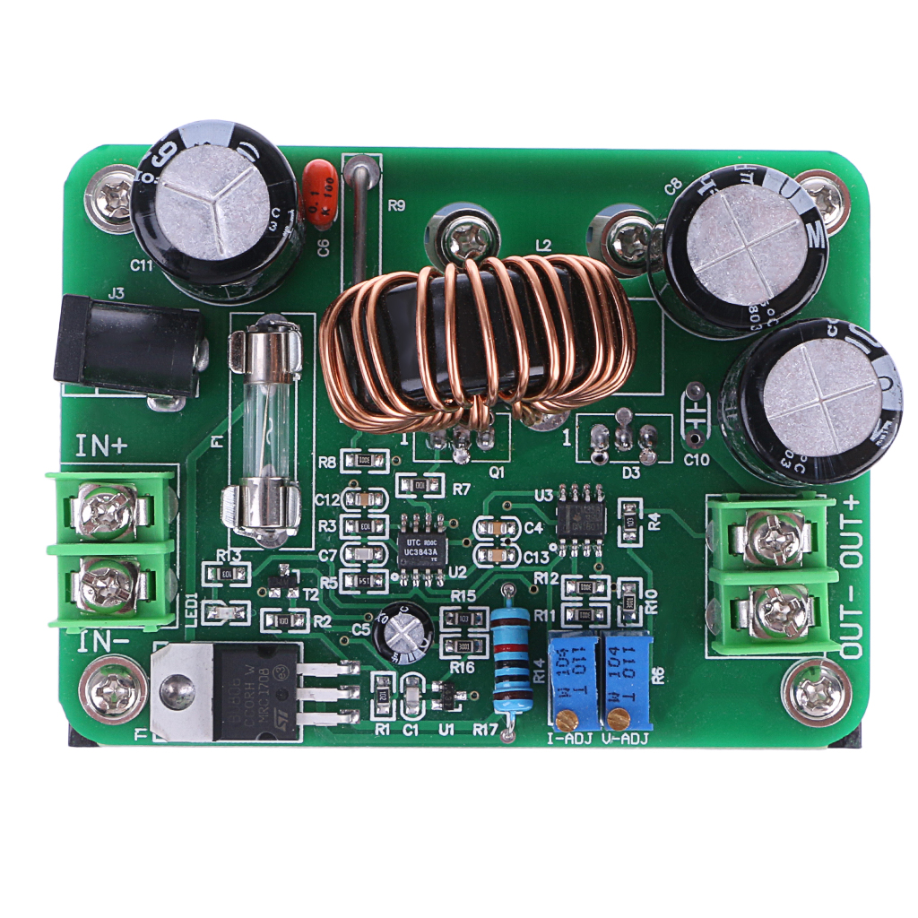 600W <font><b>DC</b></font> 10V-60V to 12V 24V 36V 48V 80V 10A Converter <font><b>Step</b></font>-<font><b>up</b></font> Module Power Supply L15 image