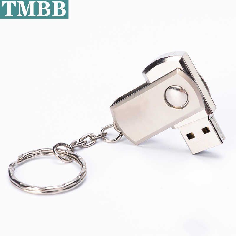 BiNFUL Flash Drive Usb 4G 8 GB 32 GB 64 GB del Metallo Pendrive Mini Disco U Pen Drive Rettangolare USB 2.0 USB Flash Memory U Disk Stick