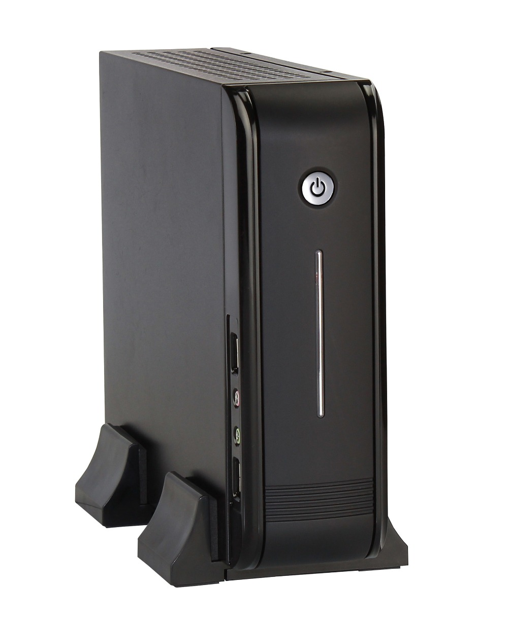 Realan 3015 Mini ITX Commercial Desktop Computer SGCC Office Computer, Cheap Desktop PC Case without power supply e mini training m3 computer case itx desktop power supply aluminum nobility
