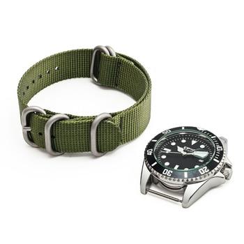 Bracelet Montre Tissu Kaki