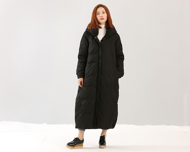 Aliexpress.com : Buy Thick Down Coat X Long Down Coat Winter