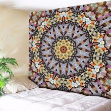 Kaleidoscope Bohemian Tapestry Mandala Valley Tapestries Indian Wall Carpets Hanging Home Decor Hippies Blanket