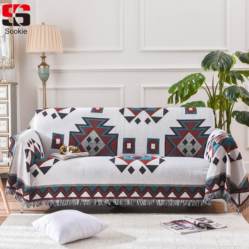 Awe Inspiring Us 16 71 29 Off Sookie Boho Style Sofa Cover Nice Tassels Cottn Funda Sofa Towel Slipcover For 1 2 3 Seat Sofa Furniture Protector Couch Cover In Gamerscity Chair Design For Home Gamerscityorg