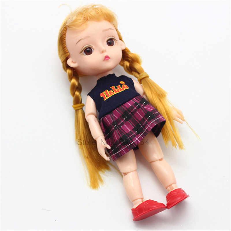 15 CM BJD Doll Parts 13 Joints DIY Dress up Lovley BJD Original Girls Princess Dolls Toys Kid Gift Baby Doll Parts Replacementor
