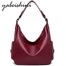 цена на New Women Leather Shoulder Bags Tote Sac A Main Handbags Women Messenger Bag For Women Designer Crossbody Bags Bolsa Feminina
