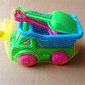 Novos brinquedos da praia do verão um conjunto de praia carro e dragagem ferramenta brinquedos educativos crianças terno