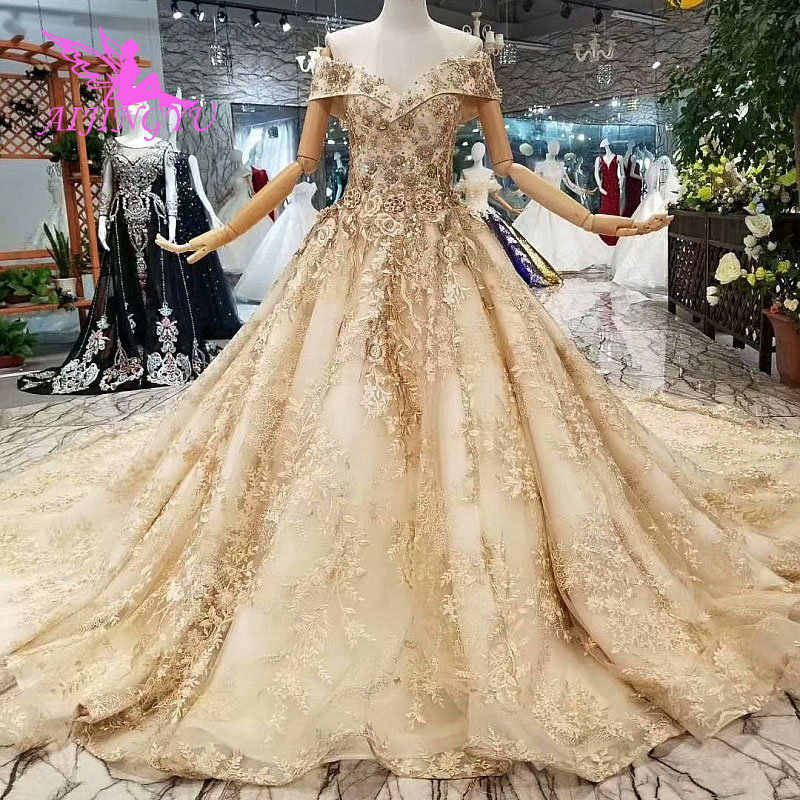 755349ab236 AIJINGYU Wedding Dresses Plus Size Simple 2018 Korean Marriage For Bride  South Africa Design Arabic Wedding